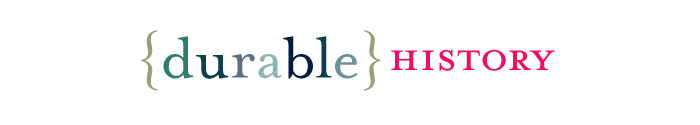 durable history logo